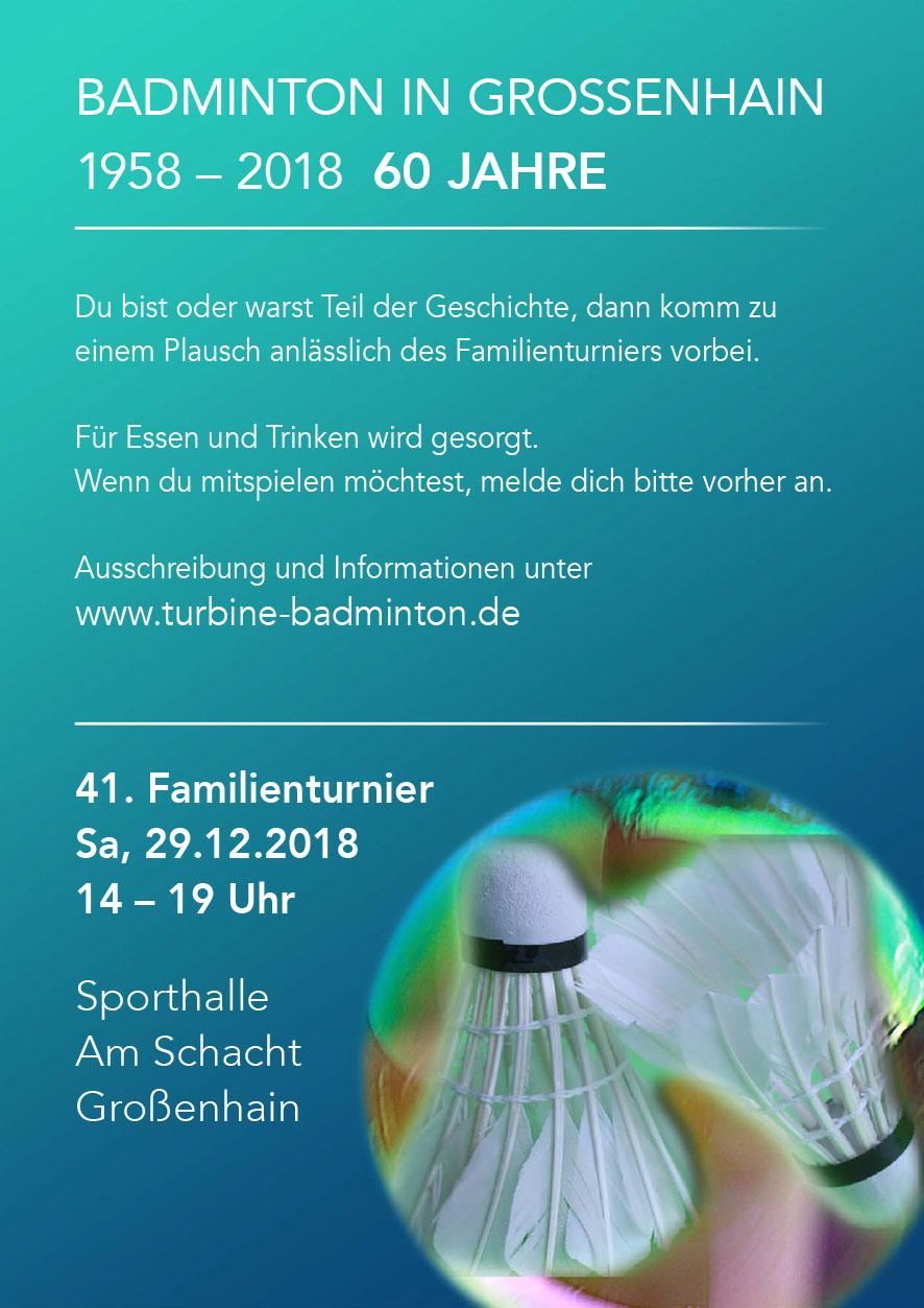 60 Jahre Badminton in Großenhain